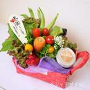 健康を気遣う野菜ブーケの贈り物・バーニャカウダソース付き(クール便送料無料)