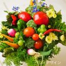 結婚式の演出ブーケトスに人気♡ミニ野菜ブーケ(クール便送料無料)