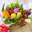 お祝い・ギフトにおすすめ野菜ブーケ(クール便送料無料)