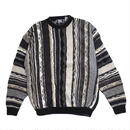 【USED】SUTTER&GRANT 3D COTTON SWEATER
