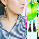 【🌟再販🌟大人気🌟】14kgf Nature Blue Tassel