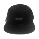 Nylon 6 Panel Cap Black