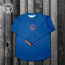 【TMC】HeiQ Stripe Long-sleeve T-shirts(Navy)