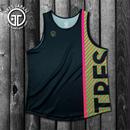【TMC】HeiQ Stripe Tanktop(Black)