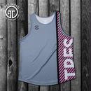 【TMC】HeiQ Stripe Tanktop(Gray)