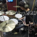 """How to play """"ECHO"""" on Drums"""