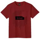 スポーツの秋T-Shirts (バーガンディー)