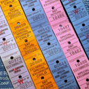 【イギリス】ヴィンテージ 蒸気船チケット 5種(トータル125片)セット