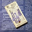 【イギリス】ロザラムコーポレーション バスのブロックチケット 4 1/2 50枚綴り