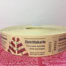 【ドイツ】Eingrittskarte(入場券)チケット イエロー 1ロール(1000片)