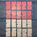 【イギリス】使用済みの鉄道チケット ホワイト&ピンク 各20枚(計40枚セット)