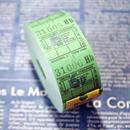 【イギリス】ヴィンテージ バスチケット グリーン6p 1巻 1000片