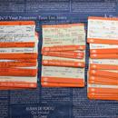 【イギリス】使用済み改札チケット British Rail(英国鉄道)40枚セット