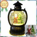 クリスマス 飾り LED ライトオブジェ カンテラ サンタクロース 置物  i0289