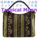 日本製 ハンドバッグ レディース ゴブラン ブラック 花柄 8874