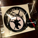 Ninja Kutry Badge & Sticker Set