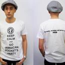 ネバートラストKEEP CALMバンドTシャツ