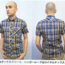 ネバートラスト LINEN CHECKS/S SHIRT