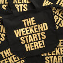 DoiN' THe MoD  THE WEEKEND STARTS HERE! トートバッグ
