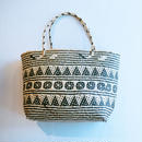 Aztec Straw Bag