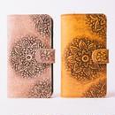 Mandala Leather iPhone Case