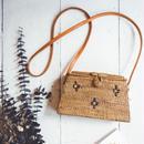 The Gypsea  Straw Shoulder Bag