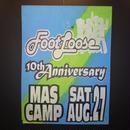 ジャマイカイベントサイン(イベント告知ボード)FOOT LOOSE10th ANIVERSARY