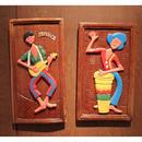 ジャマイカ 楽器 セット 木彫りセット