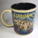 ジャマイカ直輸入 島が描かれた JAMAICA マグカップ