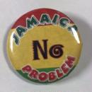 ジャマイカ直輸入 JAMAICA NO PROBLEM 缶バッチ