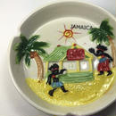 ジャマイカ直輸入! ヤシの木、BAR、ラスタマン、太陽 灰皿