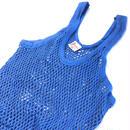 年中ラガマフィン!ジャマイカ直輸入  アミシャツ【PAYDEN】BLUE サイズ XL