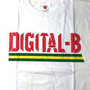 デッドストック  DIGITAL-B  OFFICIAL T-SHIRTS (WHITE)ROCKERS ISLAND