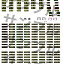 203 小田急8000形(3色LED)種別、行先、側面ステッカー