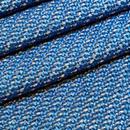 ツイード 生地 297 ブルー