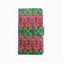 Smartphone case -dish-  ミラー&チェーン付きタイプ
