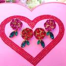 Beauty magical Rose pierce&earring♡美しい魔法の薔薇ピアス&イヤリング♡