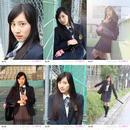 "大上陽奈子 生写真 ""第3弾"" 「卒業」 No.25~No.30 (6枚セット)"