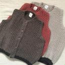 Cozy knit vest(男の子/女の子)