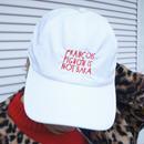 FRANÇOIS PIGNON IS NOT BAKA_nylon  cap_WHITE