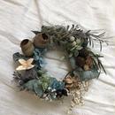 Candl wreath sea