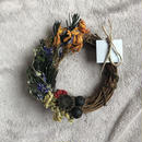 half mini wreath