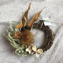 half wreath