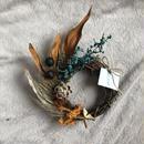 open sesami half wreath