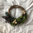 Discernment forest half wreath