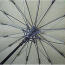 風につよい!16本骨ジャンプ式 エンボス加工 チェック柄 傘 (全3色) 65cm/長傘 [OSK026 BL/NE/KH]