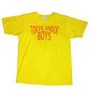 TOKYO SHOCK BOYS T-SHIRTS YELLOW