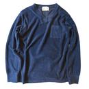 TSB トルコ産長綿パイルロングTシャツ(インディゴ、ネイビー)