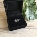 Herkimer  diamond ring No,4