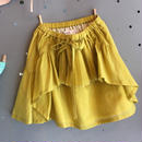 folk  made  ☆ pleated  skirt  Msize